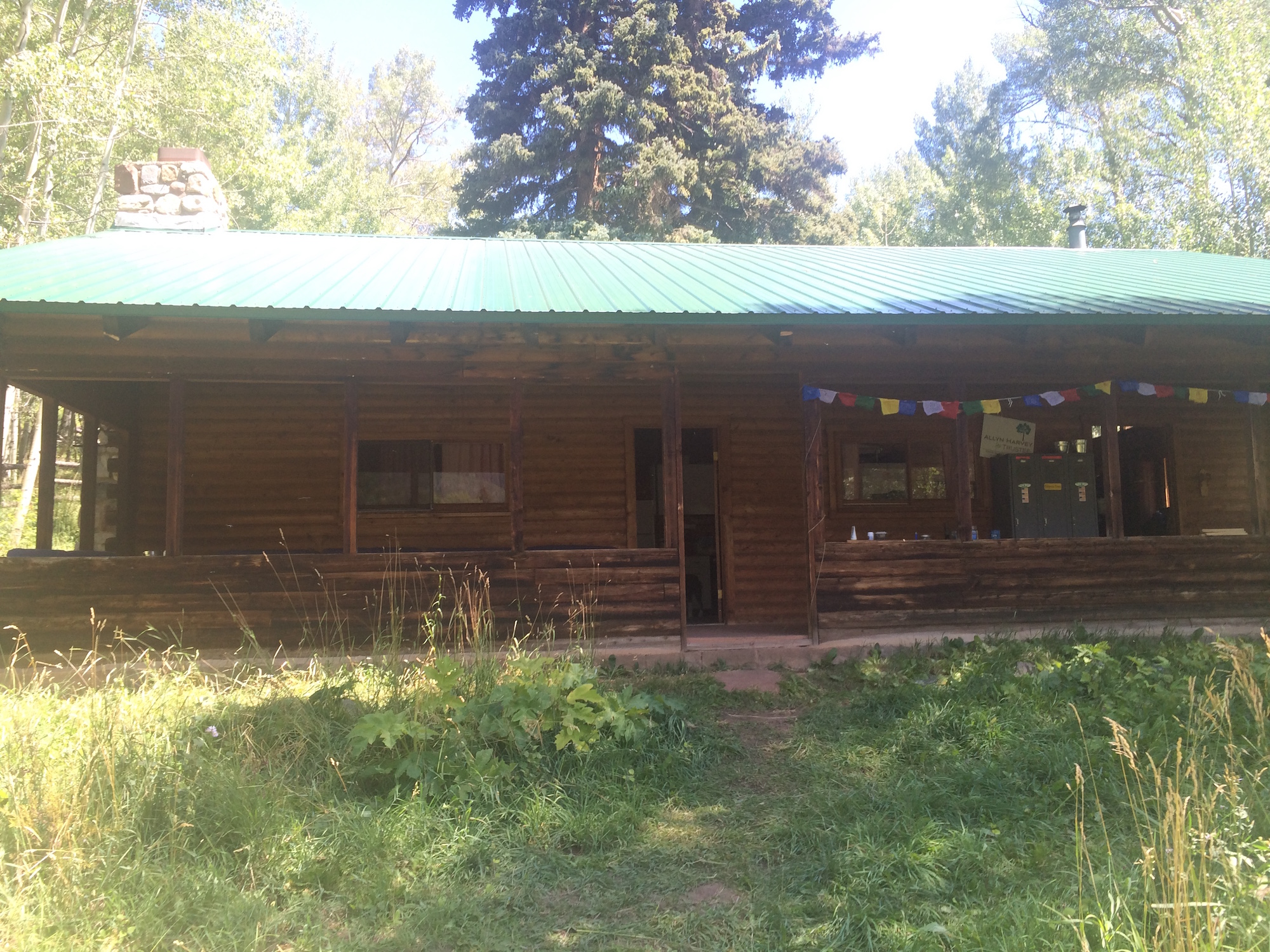 The big cabin